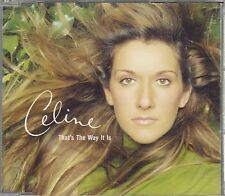 "CD MAXI 3 T CELINE DION  ""THAT'S THE WAY IT IS"""
