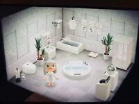 Animal Crossing New Horizons 🤍 weißes Badezimmer 🤍