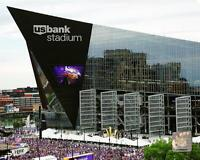 Minnesota Vikings U.S. BANK STADIUM Glossy 8x10 Photo Print Field Poster