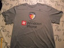 Large- Texans Windows Phone Nike Dri Fit T- Shirt