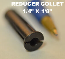 "1/4"" to 1/8"" Reducer Adapter Chuck Collet for Dremel Die Grinder Router Tool NEW"