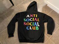 Anti Social Social Club ASSC Hoodie Black Hoody Hoodie XL