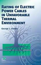 Rating of Electric Power Cables in Unfavorable Thermal Environment by Anders