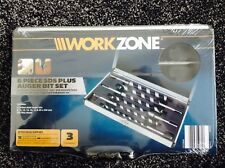 Workzone 6 Pezzi SDS Plus Trivella Bit Set
