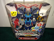 Primus Unicron Head Transformers Cybertron Hasbro 2005 MISP Primus Unleashed!