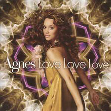 CD single EUROVISION 2009 Suede Preselection : Agnes Love love love  CARD SLEEVE