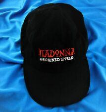 MADONNA DROWNED WORLD TOUR 2001 BASEBALL CAP Official Tour Promo Merchandise Hat