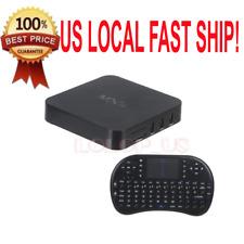 MXQ 1GB/8GB Dual Core Android 4.4  TV Box+Mini i8 Black Wireless Keyboard