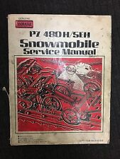 Genuine Yamaha PZ 480H/SEH Snowmobile Service Manual LIT-12618-00-55