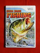 GENUINE LN Sega Bass Fishing Nintendo Wii 2008 010086650105 + Booklet RVL P RBTE