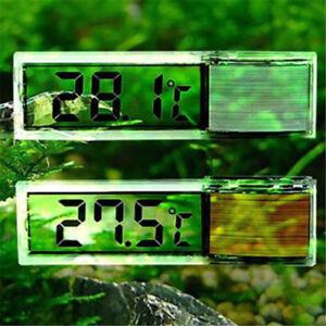 LCD 3D Crystal Digital Electronic Aquarium Thermometer Fish Tank Temp Meter US