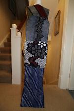 vintage Japanese cotton indigo shibori fabric artisan hand tie dye bundle 2