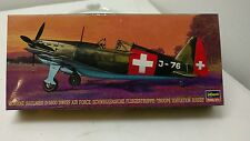 Hasegawa Hobby Kits 51376 Morane Saulnier D-3800 Swiss Air Force Vintage NOS