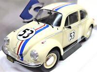 MODELLINI AUTO 1:18 MAGGIOLINO TUTTO MATTO MAGGIOLONE HERBIE CAR MODEL MINIATURE