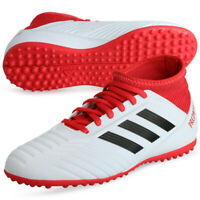 Adidas Predator Tango 18.3 Turf J Shoes Boys Youth Wht Boots CP9040 Soccer 11.5