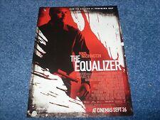 The Equalizer - Mini Movie Poster (2014) - Denzel Washington, Chloe Grace Moretz
