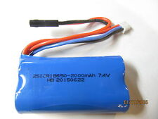 Li-ion Akku 7,4V 2000mAh RC Heli  MJX F649, F639, T640, Monstertronic Big Lama