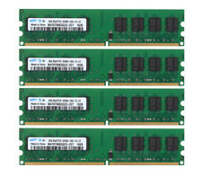 8GB 4PCS 2GB DDR2 667MHz PC2-5300U 240PIN DIMM intel Desktop memory RAM CPU @7H