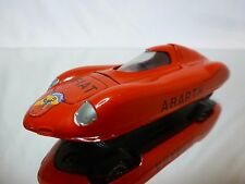 VEREM 11 FIAT ABARTH RECORD CAR 1958 - RED 1:43 - GOOD CONDITION