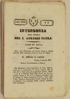 GIORNALE DELL'INTENDENZA DEL PRIMO APRUZZO ULTRA ABRUZZO REGNO DI NAPOLI 1859