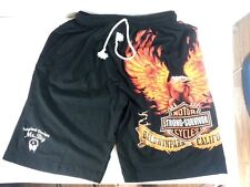 New Muay Thai Short Men Boxing Shorts Black Color Size M Art Cotton 100% Sport