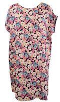 Damen Sommerkleid Freizeitkleid Blumen 38 40 42 Casual khaki, orange LI011597757