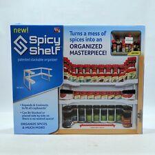 Spicy Shelf Cabinet Organizer Spice Makeup Nail Polish Tray NIB