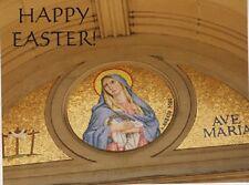 "*Postcard-""Ave Maria""-Happy Easter""/OL of Sorrows Catholic Church/Canada"