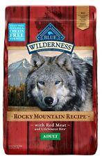 Blue Buffalo Wilderness Rocky Mountain Recipe High Protein Grain Free, 22 pounds