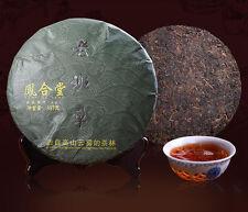 [Fenghetang] 357g 2010 Yunnan Old Tree Ripe Puer Cake Tea Lao Ban Zhang Pu-erh
