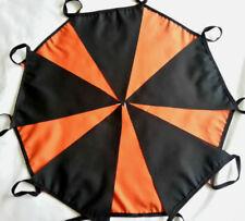 Halloween Black & Orange Fabric Bunting 20ft /6m Bundle Hallowe'en Party