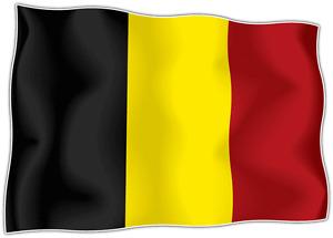 sticker stickers decal vinyl decals national flag car BELGIUM Emblem
