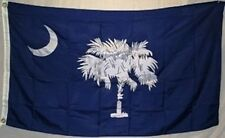 South Carolina Blue Palmetto State Flag 3x5 ft Lightweight Print Polyester