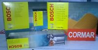 KIT 4 FILTRI TAGLIANDO BOSCH AUDI A3 1.9 TDI + OLIO CASTROL EDGE FST LONGLIFE