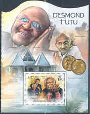 SOLOMON ISLANDS 2012 DESMOND TUTU SOUVENIR SHEET MINT NH