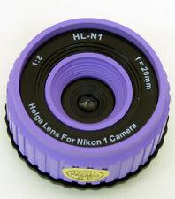 USD - Holga lens HL-N1 PURPLE for Nikon 1 Series Digital Cameras