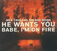 NICK CAVE HE WANTS YOU/BABE I'M...4-TRK CD NEW/UNPLAYED