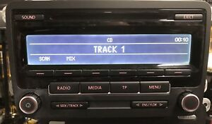 Vw Low Eu DAb  Cd With Code Fully Tested with new dab aerial