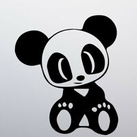 JDM Panda Car Sticker Decal Vinyl Window Bumper Funny Japan Drift Tuning Drunk