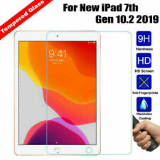 100% Genuine Tempered Glass Screen Protector for New iPad 7th Gen 10.2 inch 2019
