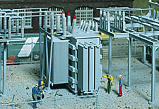 Walthers Cornerstone HO Scale Building/Structure Kit Electrical Transformer