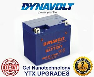 MG9BS DYNAVOLT MOTORCYCLE GEL PERFORMANCE BATTERY OEM APPROVED YTX9-BS UPGRADE