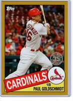 Paul Goldschmidt 2020 Topps 1985 35th Anniversary 5x7 Gold #85-90 /10 Cardinals