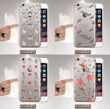Cubierta para ,IPHONE, Transparente, Silicone, Suave, Amor, Dulces, Divertido,