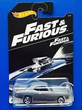 2016 Hot Wheels FAST & FURIOUS (SERIES 3) 1970 CHEVROLET CHEVELLE SS MUSCLE CAR!