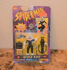 Spiderman Spider Wars Black Cat Action Figure ToyBiz Complete  New