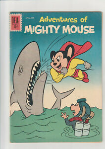 Advs. of Mighty Mouse #154 F+ 1962 Dell Comic