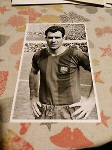 BARCELONA FC, EVARISTO DE MACEDO, 1950'S, ORIGINAL PHOTO