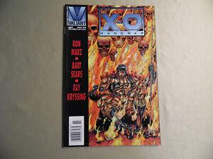 X-O Manowar #48 (Valiant 1995) Rare Newsstand Variant / Free Domestic Shipping