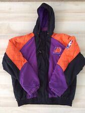 NBA Phoenix Suns Vintage Starter Jacket 90s Puffer Coat Hooded Vtg Large